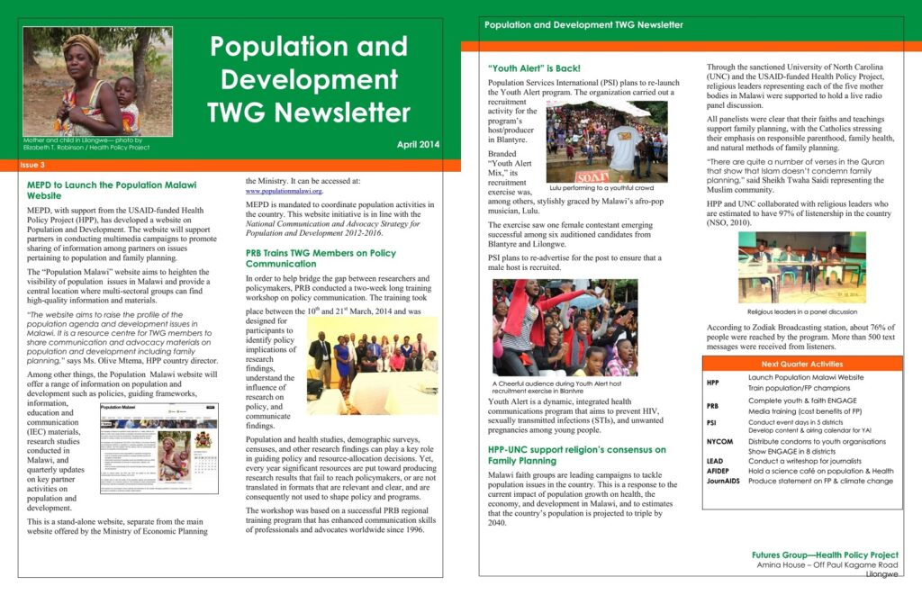 CLICK HERE TO DOWNLOAD THE LATEST TWG NEWLETTER